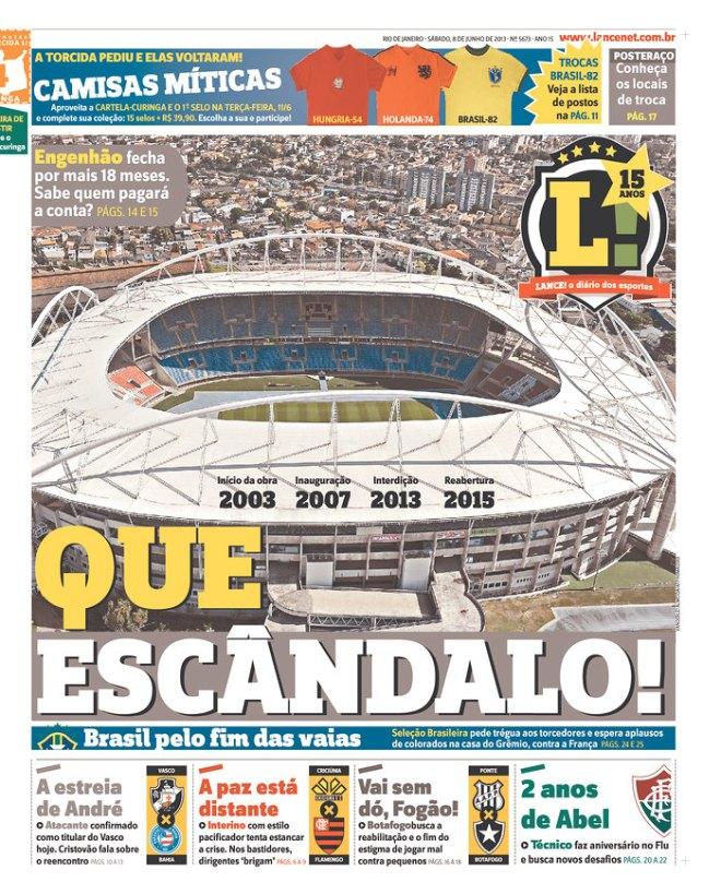 BRA_LRJ Engenhão copa futebol estádio