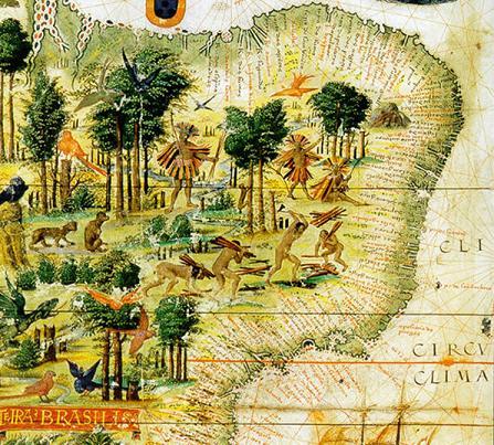 Mapa do Século XVI