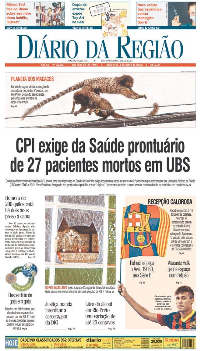 BRA^SP_DDR Sao JOse do Rio Preto morte hospital