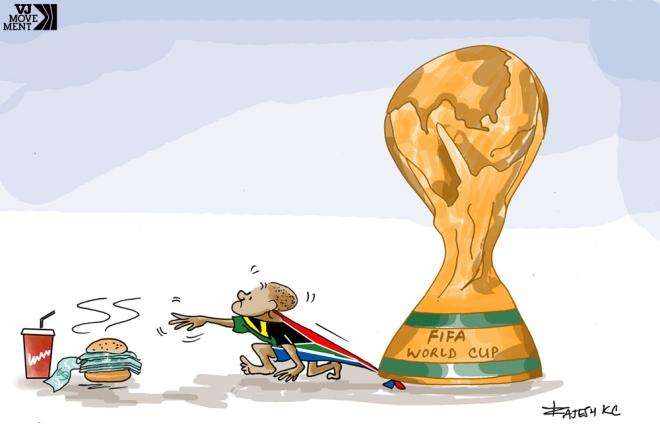 Legado da copa da África do Sul, por Rajesh KC