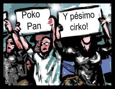 pão circo indignados copa show
