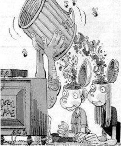 televisão indignados
