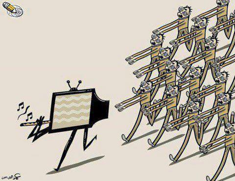 tv marcha povo pensamento indignados