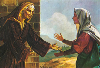 Maria tinha 15 anos quando ficou grávida de Jesus. Isabel estava com uma idade bem avançada