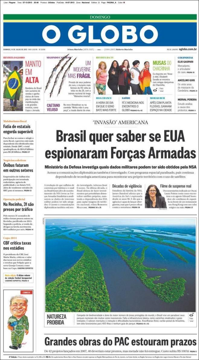 br_oglobo. espionagem Brasil