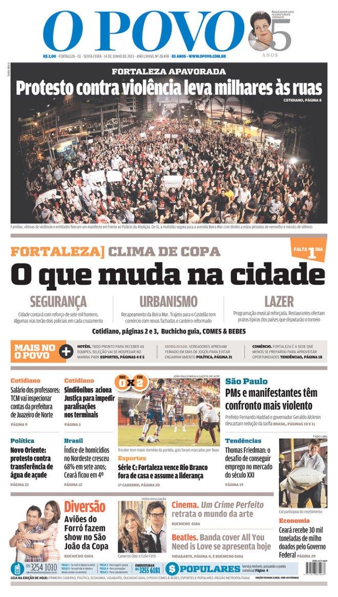 BRA_OPOVO fortaleza protesto