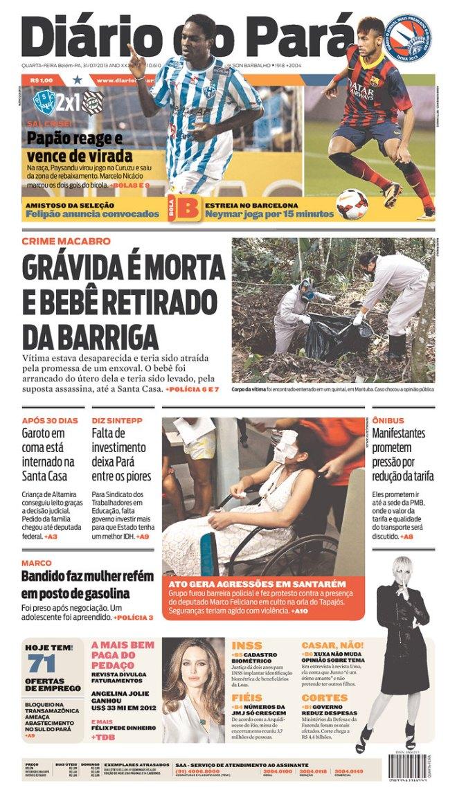BRA^PA_DDP crime cordialidade violência
