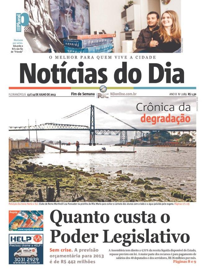 BRA^SC_NDF Florianópolis preço legislativo