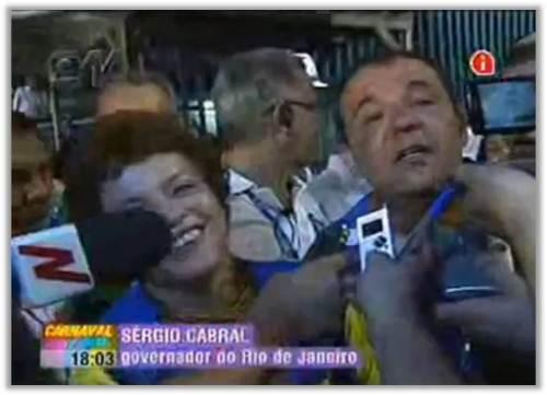 """CAMAROTE DE LUXO. """"Seu"""" Cabral bêbado no Carnaval"""