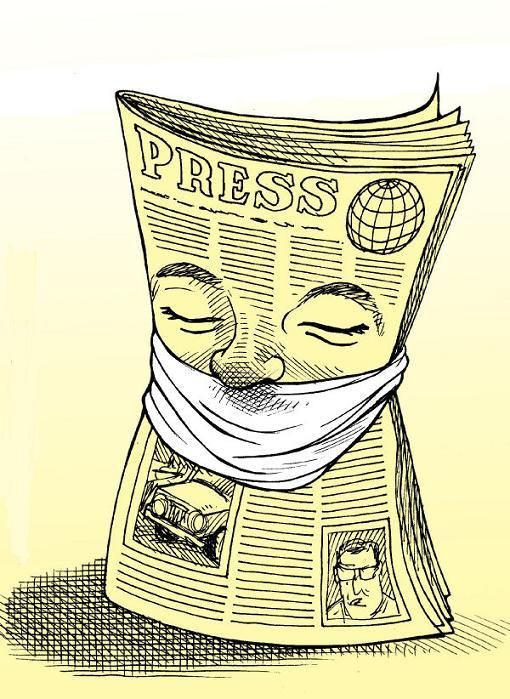 censura jornal jornalista