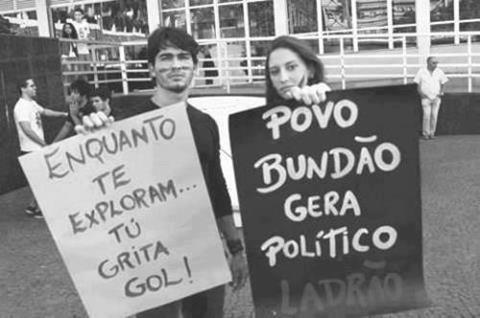 copa estádio despejo indignados maracanã