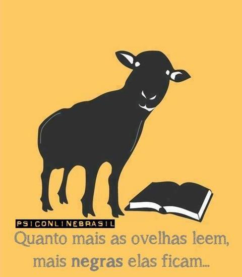 ovelha negra liberdade pensamento