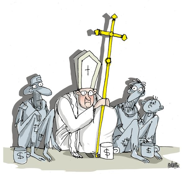Papa Francisco, por Alfredo Martirena