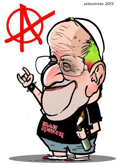 Papa Francisco, por Miguel Villalba Sánchez (Elchicotriste)