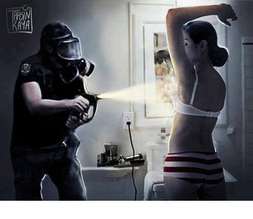 Qual a diferença entre a polícia de Sérgio Cabral e a polícia de Eduardo Campos?