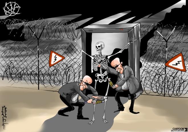 Ilustração de Mohammad Saba'aneh