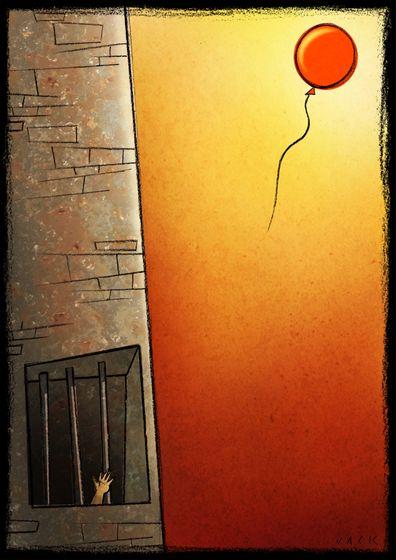 Estagiário na redação do Jornal do Comércio. Ou o sonho de uma imprensa livre. Ilustração de Giacomo Cardelli