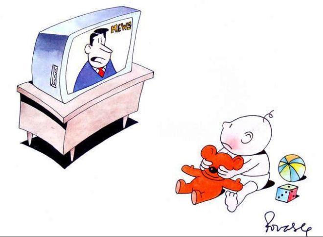 tv televisão criança ensino