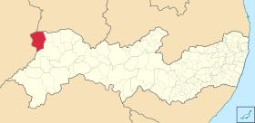 Localização de Araripina, Pernambuco
