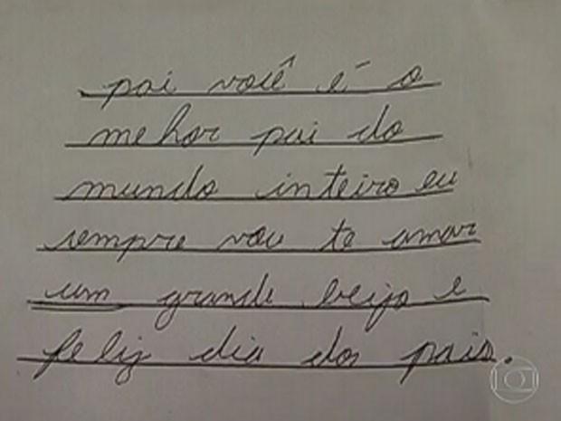 Escrito por Marcelo no dia dos pais, em 2012