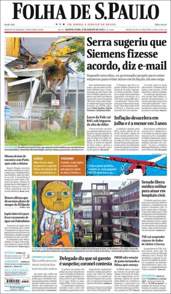 br_folha_spaulo. Um candidato tucano que cobiçou a presidência do Brasil
