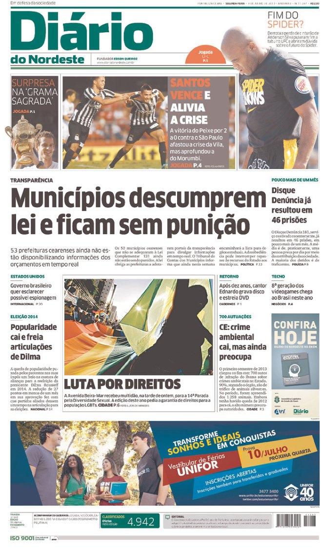 BRA_DN Ceará prefeito transparência