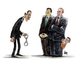 Edward Snowden, por Payam Boromand