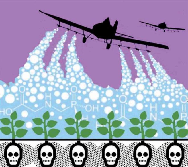 pesticidas verde plantação alimento latifúndio