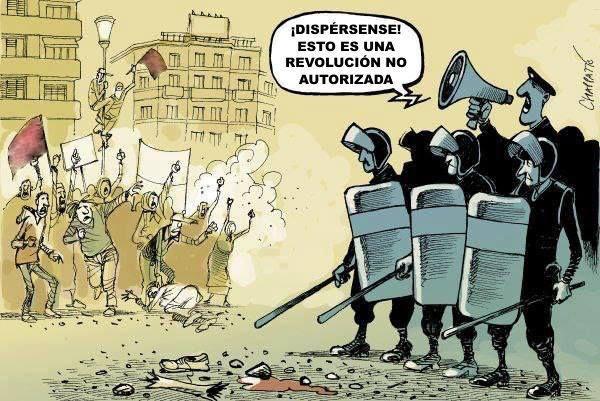 protesto governo polícia