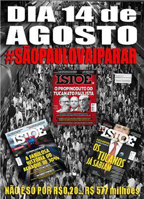 São Paulo vai parar