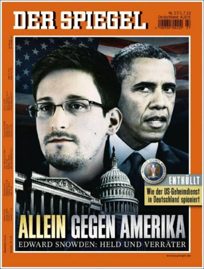 spiegel. Snowden