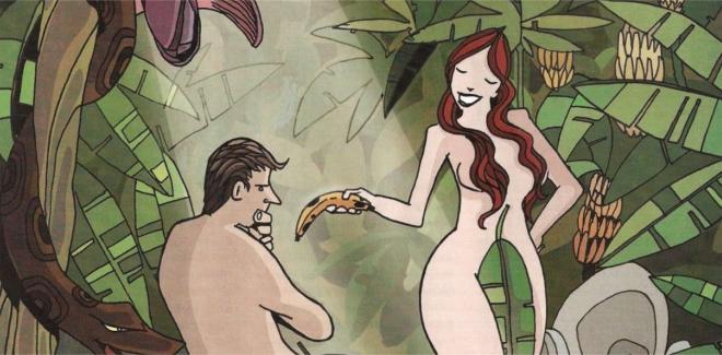 banana fruto proibido