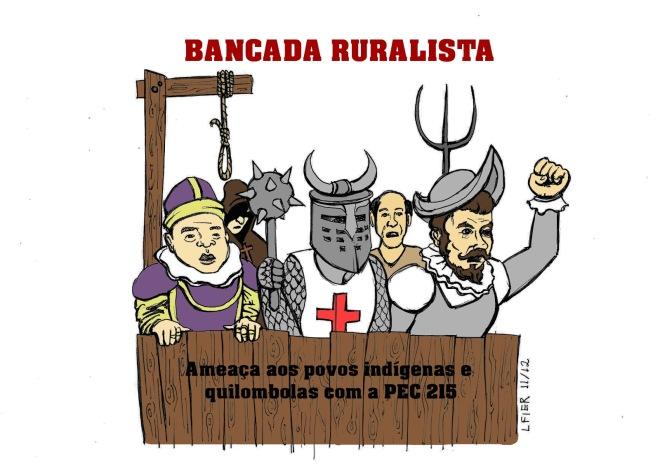 Charge Bancada Ruralista