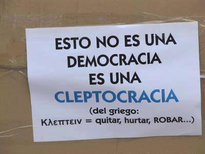 corrupção democracia