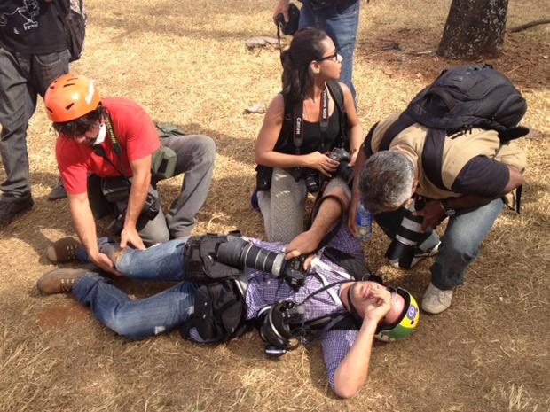Ueslei Marcelino, fotógrafo da Reuters