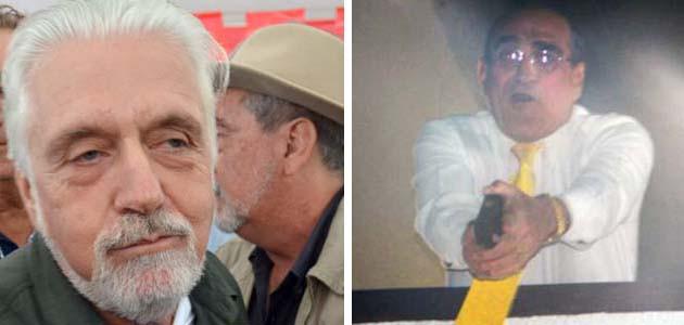 O governador seu pistoleiro (foto montagem)