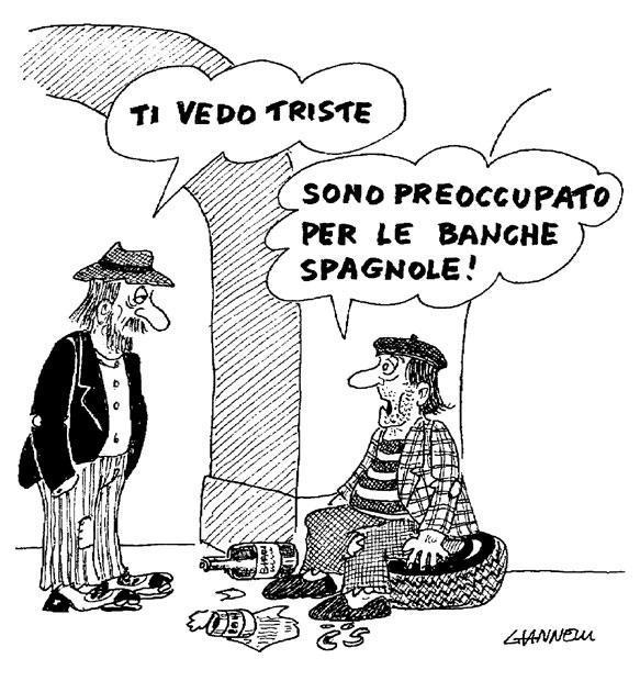 banco crise indignados Itália Espanha