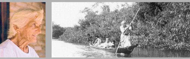 A irmã Genoveva na Amazônia