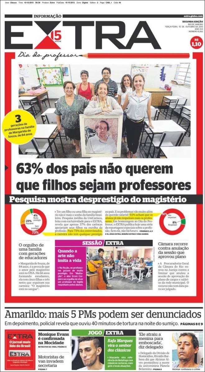br_extra. professor jornalista