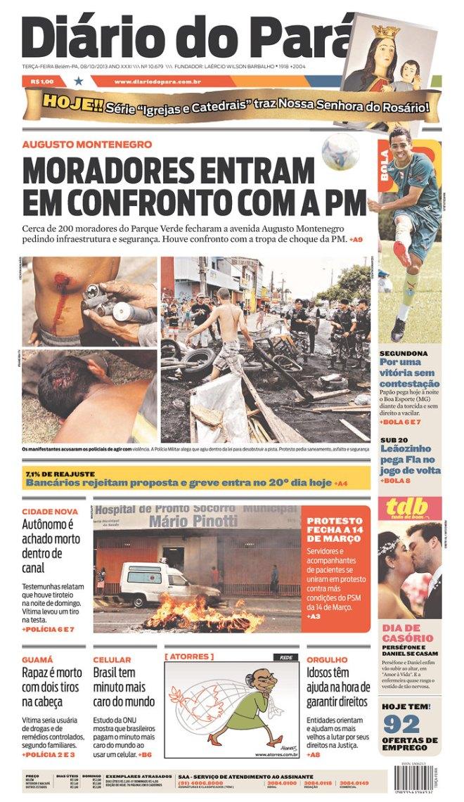 BRA^PA_ Belém polícia povo
