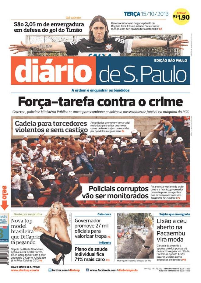 BRA^SP_DDSP manchete trocada