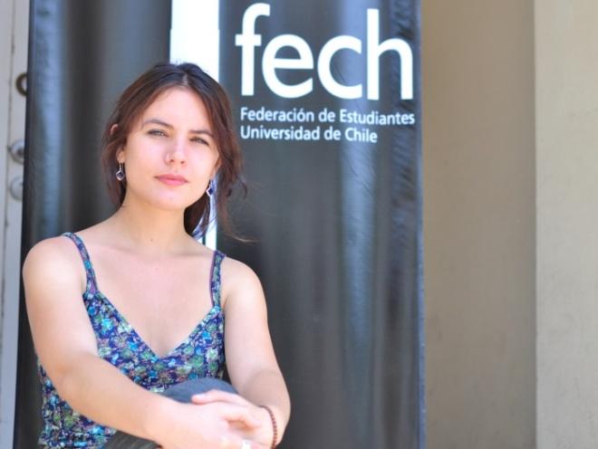 Camila Vallejo, ex presidenta da Fech
