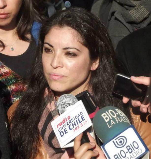 Daniela López, ex presidenta FEUCEN
