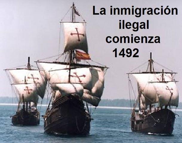 imigração 1492