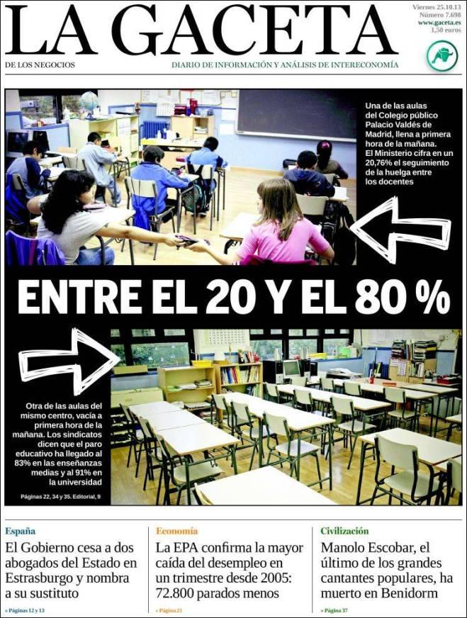 la_gaceta. greve 80