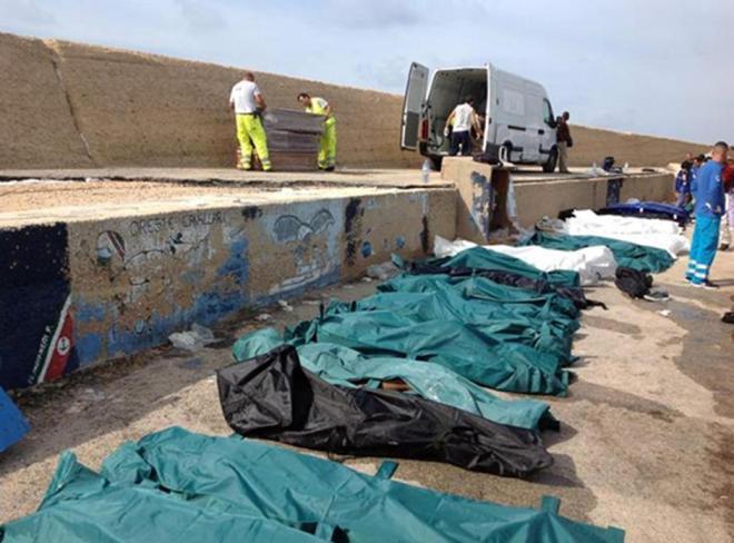 Naufragio Lampedusa: 62 corpi recuperati