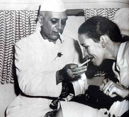 Nehru e Edwina