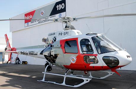 São Paulo conta com 25 helicópteros