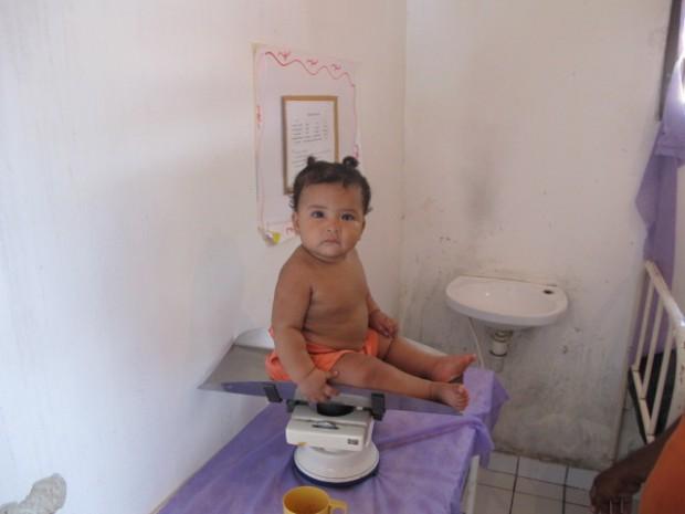 Bebê fotografado pelo repórter Dario de Negreiros em Curralinho, Pará, cidade que recebeu médicos cubanos