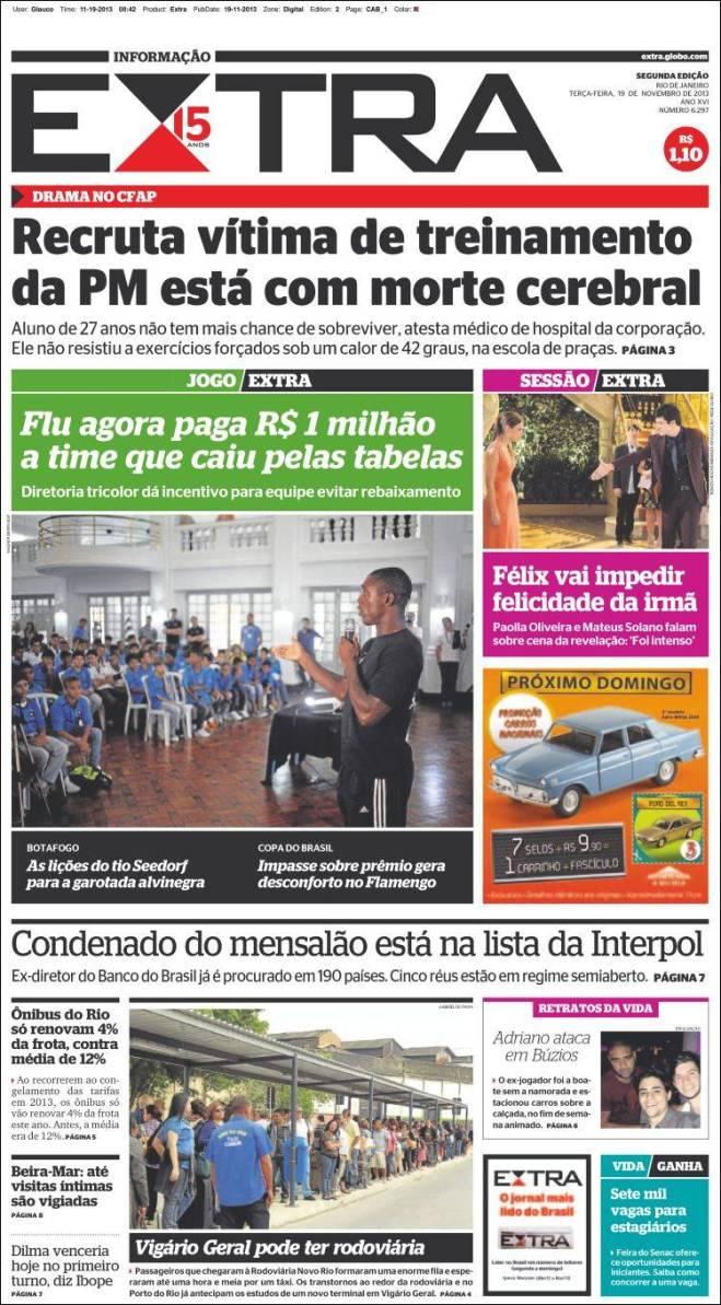 br_extra.750 recruta morte polícia treinamento